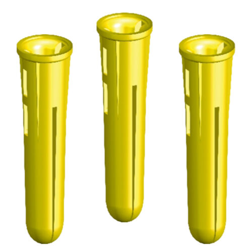 FOR SCREW SIZES: 4s//6s//8s * MASONRY DRILL: 5mm 5.5mm 5000 YELLOW RAWL PLUGS
