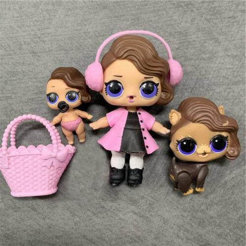 LOL Surprise Poupée Posh Baby Sister Lil Posh PUP PUPPY Pet Series 2 Doll Jouet