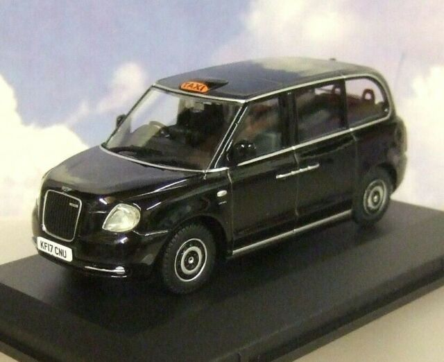Levc Tx Electric Taxi Rhd Black 1:43 Model OXFORD