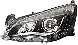 HELLA Hauptscheinwerfer Halogen für Opel Astra J links