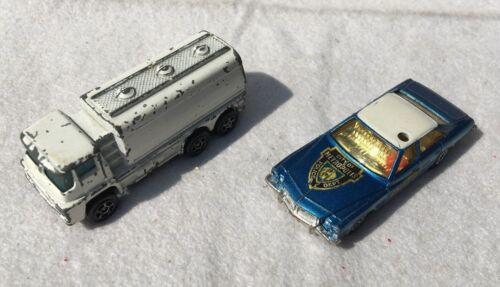 Spielzeugautos Guy Tanker & Buick Regal 2 alte Spielzeugautos/Vintage toy cars CORGI JUNIORS