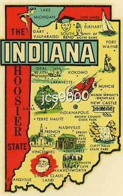 Indianapolis Indiana  500  Racing  Vintage 1950/'s Style Travel Decal Sticker