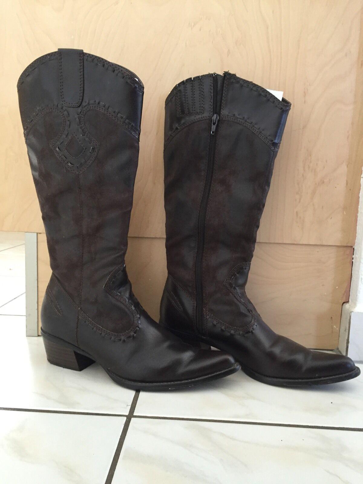 Ecco Schuhe SOFT 2.0 schwarz Damen Stiefeletten bequeme Stiefelette 20652356723