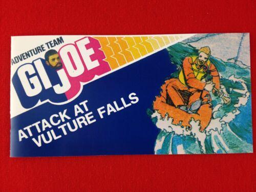 ** 1964-GI JOE CANADA-2018 ** New GI Joe Mini Comic Attack At Vulture Falls