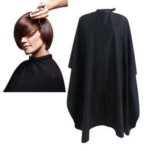 Black-Salon-Hair-Cut-Hairdressing-Hairdresser-Barbers-Cape-Gown-Cloth-Waterproof