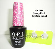 OPI GelColor Hello Kitty 2016 Starry-Eyed for Dear Daniel GC H86 LED/UV gel NEW