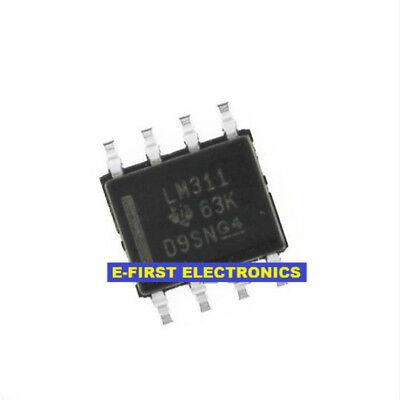 50 PCS LM311DR SOP-8 LM311D LM311 SMD-8 COMPARATORS NEW IC