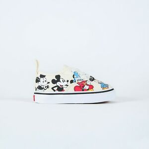 Details zu Vans x Disney Authentic Elastic Mickey Mouse Birthday Anniversary Toddler Infant