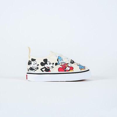 Vans x Disney Authentic elastische Mickey Maus Geburtstag Jahrestag Kleinkind Säugling | eBay