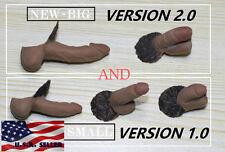 "5 x 1/6 Male Genitals Penis For 12"" Male Figure Body Phicen M30 M31 M32 M33 M34"