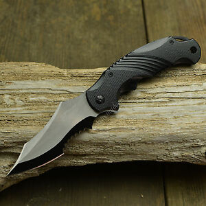 """8 1/2"""" MTECH Spring Assisted Open Tactical Combat Folding Pocket Knife Two Tone"""