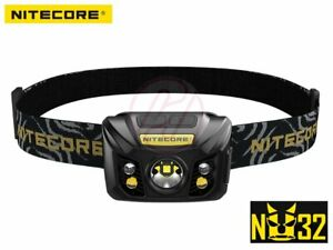 NiteCore-NU32-Cree-XP-G3-S3-WHITE-CRI-RED-USB-Rechargeable-Head-Torch-Headlamp