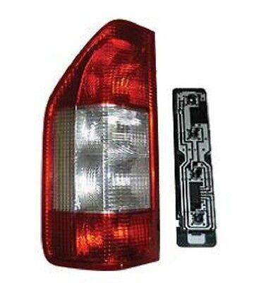 TAIL LIGHT LEFT Driver Side Dodge Mercedes Sprinter 2000-2006 BG82049 W/Socket
