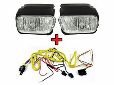 2003-04 Chevy Silverado Replacement Fog Light Set with Wire Harness Left + Right