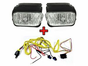 2003 04 chevy silverado replacement fog light set with wire harness left right ebay