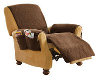 Protective Fleece Recliner Furniture Cover, By Collections Etc