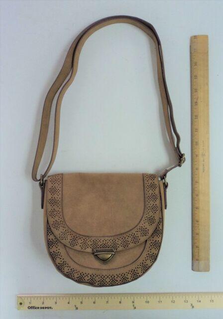 907d4e870b9d Women's Sonoma Satchel COGNAC Tan Brown Hand Bag Purse Ladies SADDLE Style