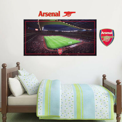 Arsenal Football Club Emirates Stadium Inside Match Day Wall Mural Sticker
