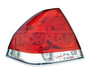 For    Chevy       Impala    2006   2008    Driver Left    Tail    Light Assembly
