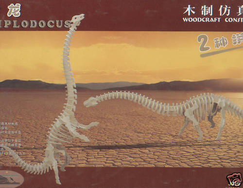 IDEAL RIVENDITORE LOT DE 15 PUZZLE IN IN PUZZLE 3D   DIPLODOCUS  fdca1a