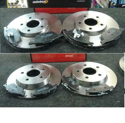 Ford Focus C-max 1.8 Front Rear Brake Pads Discs Set 278mm 265mm 125 03//07 NEW