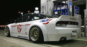JDM rear valance lip 240sx sr20det fits Nissan Silvia 180sx 200sx s13