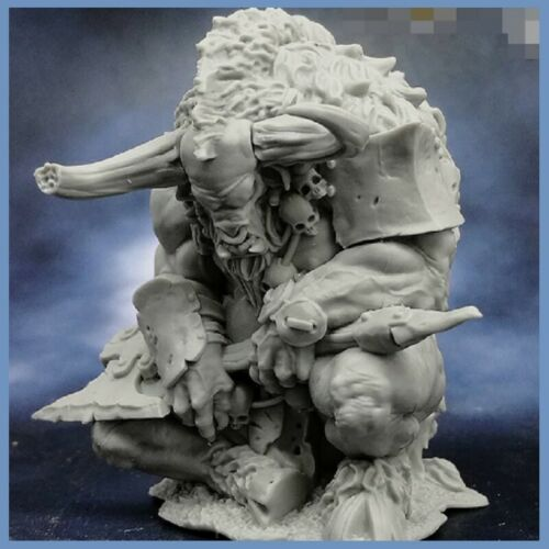 45mm Sleeping Minotaur Model figure GK Animal Warrior Unpainted Fantasy theme
