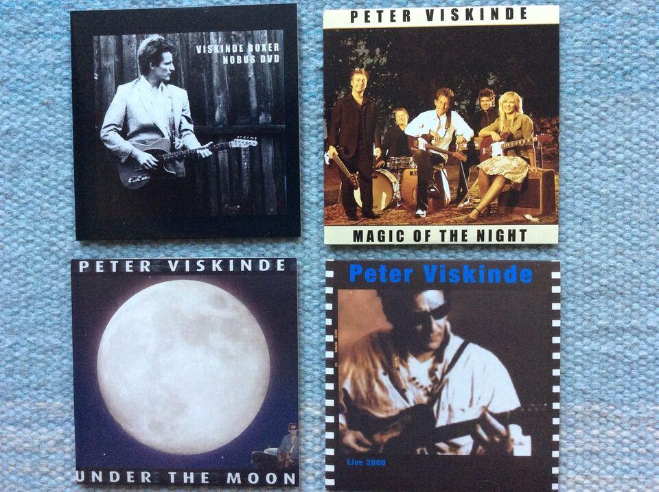 Peter Viskinde: VISKINDE BOXER, rock