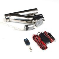 3 Exhaust Catback Turbo Electric E Cutout Ver2 W/ Remote Universal Racing Gt