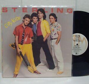 STERLING-City-Kids-NM-1980-A-amp-M-RECORDS-LP-Power-Pop-Punk-Pub-Rock-034-ROBOSEXUAL-034