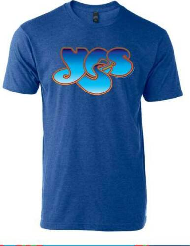 Yes Logo Classic Rock Psychedelic Progressive Music Band T Shirt MAN-YES-1001