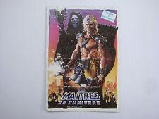 SBS Poster catalogue Les Maîtres de l'univers Musclor Le film vintage MOTU 1987
