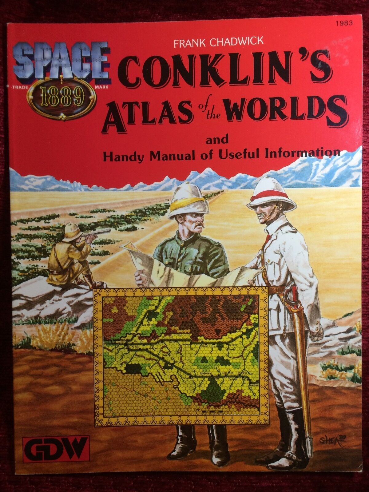 Conklin's Atlas of the Worlds - Space: 1889 - GDW Games