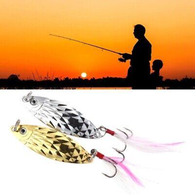 4 Pcs Fishing Bait Sequin 3g//5g Sequins Pailette Fishing Carp Metal Spoon Tackle