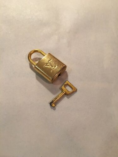 Authentic Louis Vuitton Lock and key