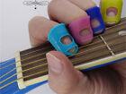 1x Guitar Fingertip Protector Silicone Finger Guard Ukulele Instrument Music H1