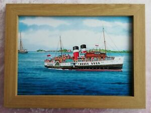 The Waverley Paddle Steamer Mumbles - Watercolour Painting - Tony Paultyn
