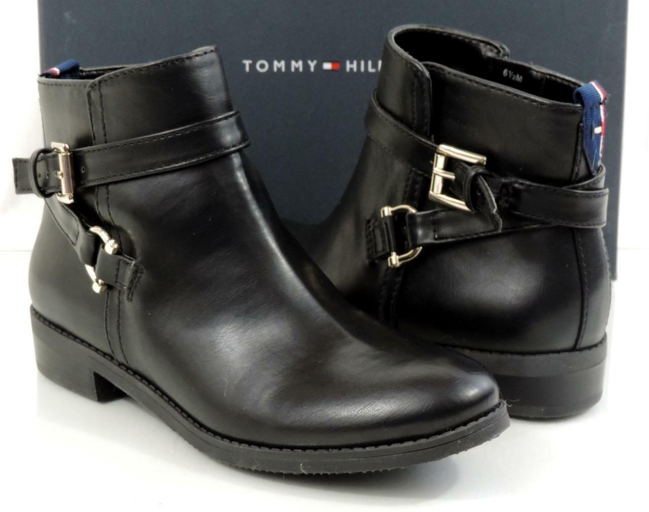 tommy hilfiger danni 2 noir taille bottes synthétiques, taille noir 5, dé tai l 89   aa4951