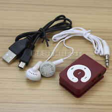 Fashion Clip USB Mini MP3 Music Media Player Support Up to 2G 4G 8GB TF Micro SD