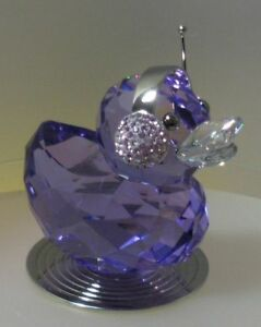 SWAROVSKI-SILVER-CRYSTAL-DUCK-J-JAY-1049592-MINT-IN-BOX-NOW-RETIRED