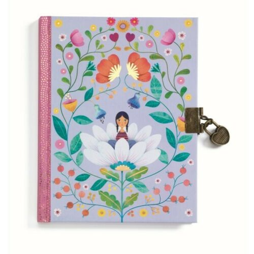 *DJECO*Geheimes*Tagebuch/&Schloss*Memory Book*Einschreibebuch*Marie*