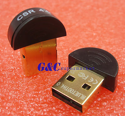 Mini USB Bluetooth V4.0 20M 3Mbps Dual Mode Wireless Adapter Round