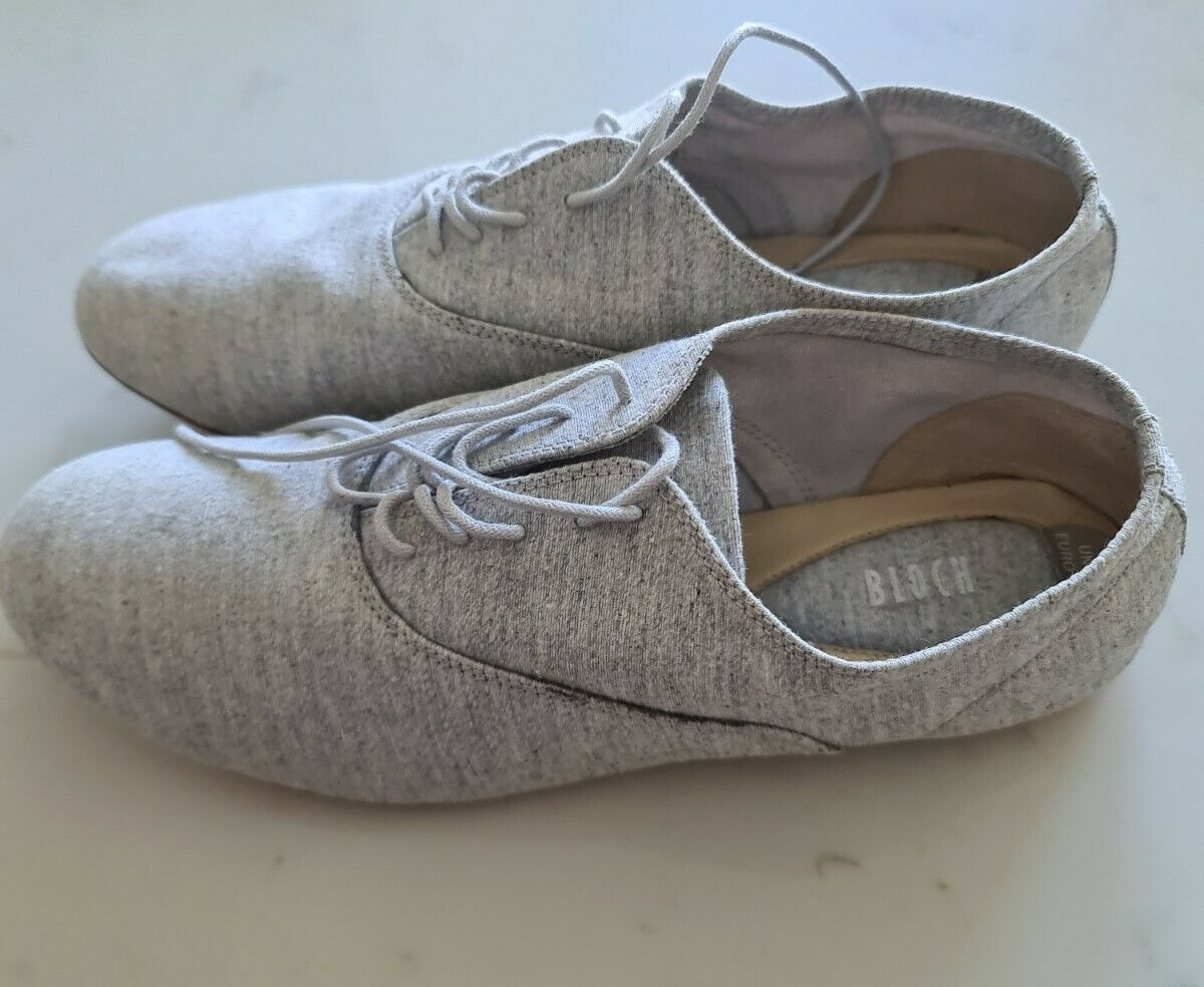 Bloch Grey & Leather 4.5 New - Never Worn