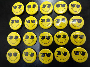 image is loading 20 pk smiley face sunglasses 1 1 4