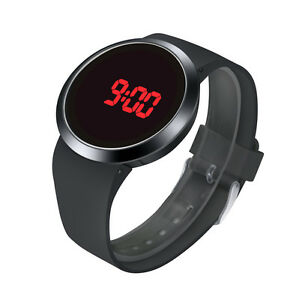 Da-Uomo-Orologi-Led-Sportivo-Impermeabile-Digitale-Polso-Touch-Screen