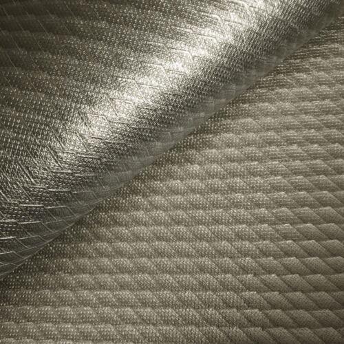 Muriva Ophelia Metallic Geometric Heavy Weight 3D Effect Wallpaper