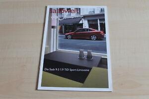 107202 Saabwelt 02/2004 Saab 9-3 1.9 Tid Sport Limousine