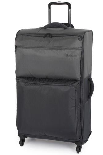 IT Luggage MEGALITE Duo Tone 4 roue moyenne étain//Aimant 66.5 cm Valise NEUF