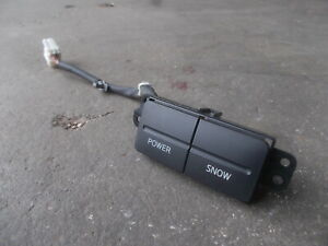 NISSAN ELGRAND E51 series1 AT power / snow mode select switch sec/h #7
