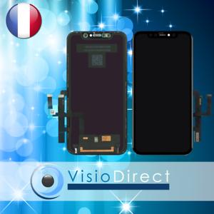 ECRAN COMPLET IPHONE 11 : VITRE TACTILE + LCD NOIR/JAUNE/ROUGE/MAUVE/VERT/BLANC